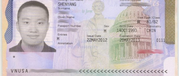 USA_visa_issued_by_Shenyang_20121