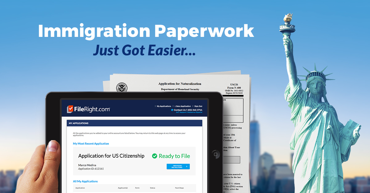FileRight.com - Immigration Paperwork just Got Easier