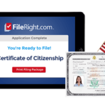 FileRight customer Elaine used immigration software to complete her citizenship application.