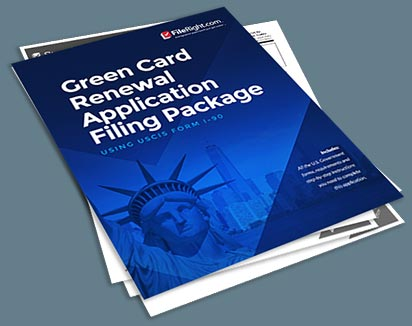 FR Green Card Renewal Package