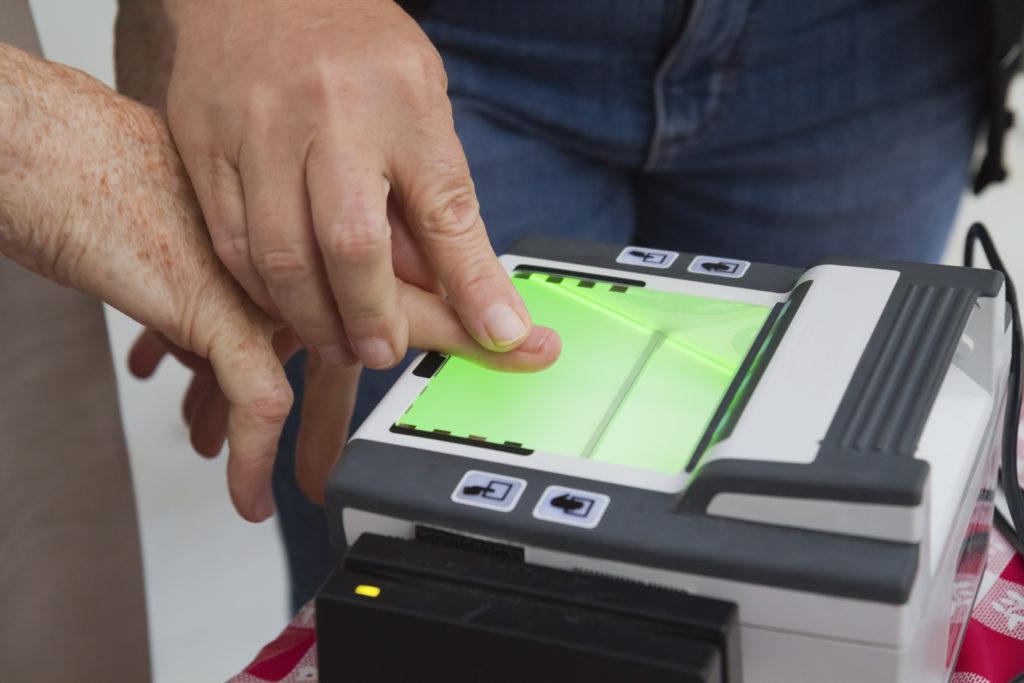 Biometrics appointment