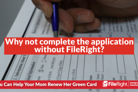 It can be easy to help a relative renew their green card.