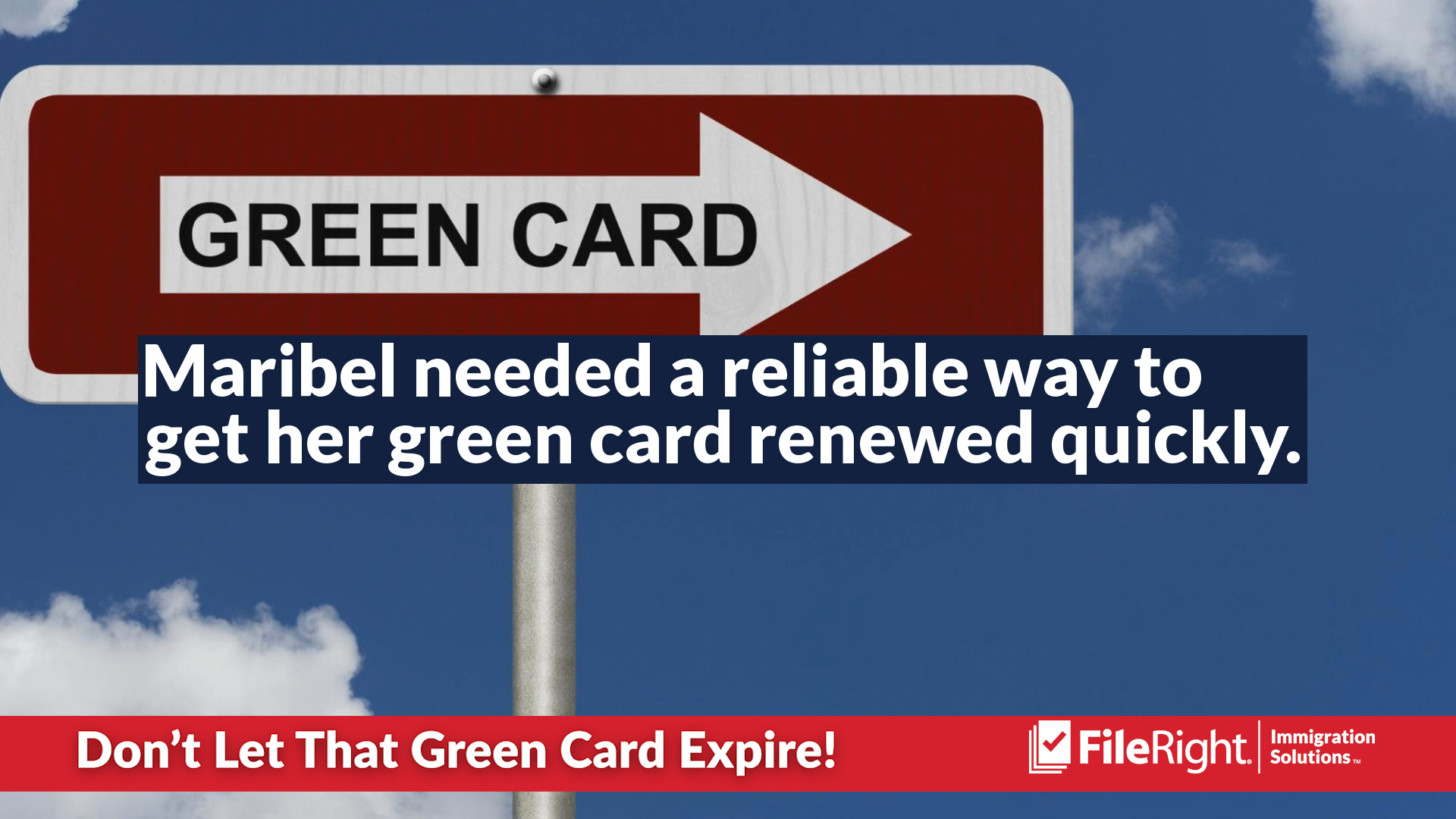 Some people don't realize their green card is expiring.