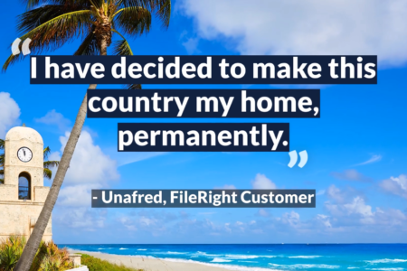 FileRight can make the green card renewal process easy.