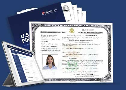 Certificate Of Citizenship Fileright For Form N 600 Fileright